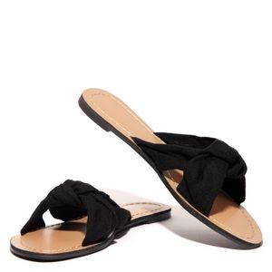 Shoes | New Cute Black Sandals Size 1